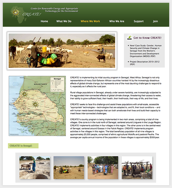 Non-Profit, NGO, Aid Organization Website